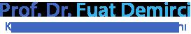 Prof. Dr. Fuat Demirci | Kadın Hastalıkları ve Doğum Uzmanı